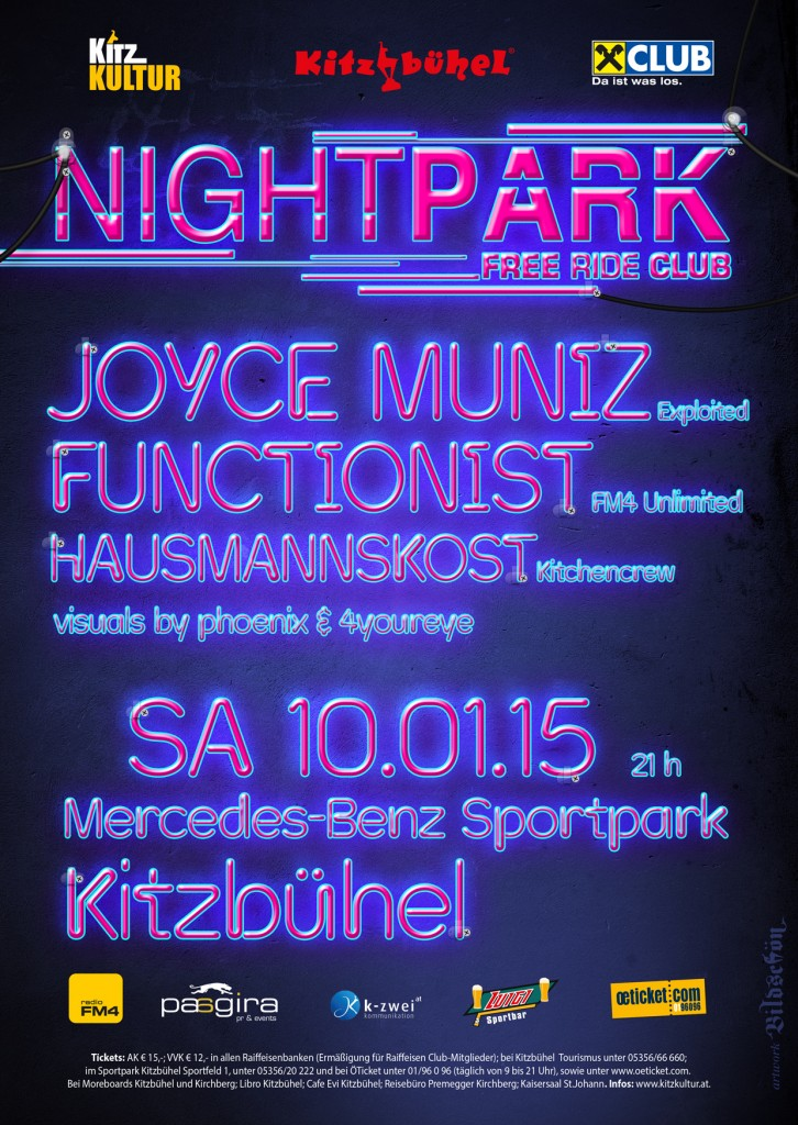 Flyer_A6_Night Park Clubbing
